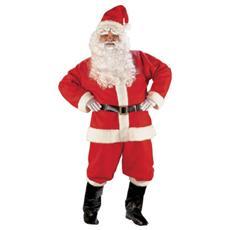 Costume Super Lusso Babbo Natale L