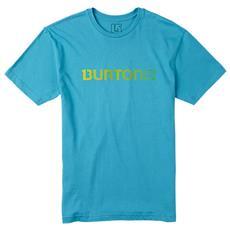 T-shirt Logo Horizontal Uomo S Blu