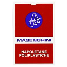 52029 - Napoletane 36 Carte Da Gioco, Astucio Rosso