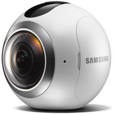 Gear 360 Videocamera a 360° con Doppio Sensore da 15Mpx Wi-Fi Bluetooth e NFC - Italia