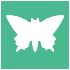 Fustella da 25 mm Farfalla