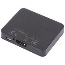 38157 Splitter HDMI High Speed Compact Full HD 4K 2 Porte