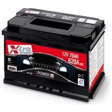 Batteria Auto - Accumulatore 12v 70 Ah   Pronta All'uso