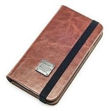 Q2110005 Custodia a libro Marrone custodia per cellulare