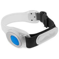 Safety Armband Fascia da Braccio con Led - Bianco