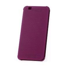 Dot view flip cover purple orig htc desire eye