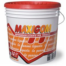 Guaina Liquida Impermeabilizzante Maxigom Laiv colore Bianco 14 Lt. Calpestabile