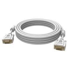 2x VGA 15-pin D-Sub, 20m, VGA (D-Sub) , VGA (D-Sub) , Maschio, Maschio, Dritto, Dritto