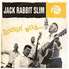 "Jack Rabbit Slim - Rockin' With. . . (10"" Gold Vinyl)"