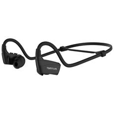 Auricolari Bluetooth Headset 3 impermeabili (IPX4) - Nero
