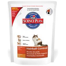 Alimento Per Gatto Science Plan Feline Adult Hairball Control Chicken 300g