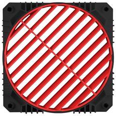 Convogliatore per Regolazione Flusso d'Aria EAG001-B Colore Nero / Rosso