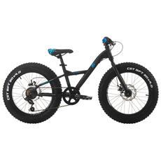 Fat Bike Cinzia Xx Fat 20 Hi-tension Ty-21 6 Velocita - Nero - Blu - Grigio