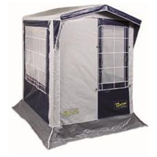 Tenda Cabina Bianco e Blu PVC 300D Rinforzato 22 mm 207 x 182 cm PIC150