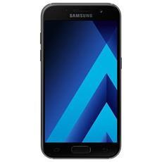 """Galaxy A3 (2017) Nero 16 GB 4G / LTE Display 4.7"""" HD Slot Micro SD Fotocamera 13 Mpx Android Vodafone Italia"""