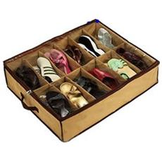 Scarpiera Ultra Sottile Per 12 Paia Di Scarpe Under Shoes