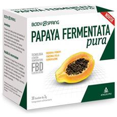 Body Spring Papaia Fermentata 30 Bustine Angelini