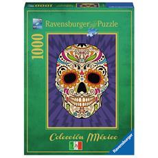 RVB19686 Collezione Messico - Teschio Calavera - Puzzle da 1000 Pezzi