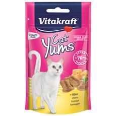 Snack per Gatti Cat Yums Formaggio 40 gr