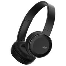 HA-S30BT-B, Stereofonico, Bluetooth, Padiglione auricolare, Nero, Bluetooth, Sovraurale