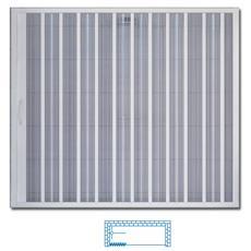 Box vasca a soffietto in PVC apertura laterale 170 x 150 H