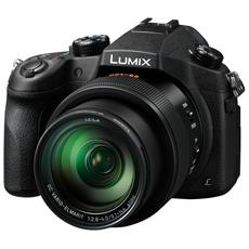 PANASONIC - Lumix FZ1000 Nero Sensore CMOS 20Mpx Zoom Ottico 16x Display 3' Filmati UHD 4K Stabilizzato
