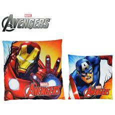 Mv92345 Cuscino Decorativo Quadrato 40x40 Cm Iron Man E Marvel
