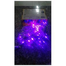 Led. 160. l Luci Pazze Led Color Lilla Catena Luminosa 6w