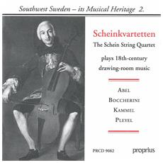 Schein Quartet - 18Th C Drawing-Room Music