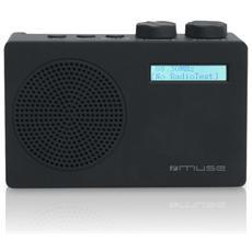 M-100 DB, Portatile, Analog & digital, DAB, DAB+, FM, LCD, Blu, AA