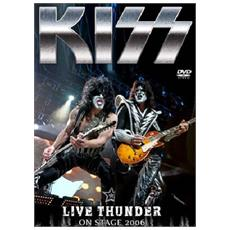 Dvd Kiss - Live Thunder On Stage 2006