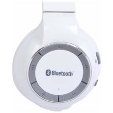 Cuffie con Microfono Bluetooth CRA0277BT Colore Bianco