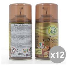 Set 12 Aroma Ric. spray 250 Argan