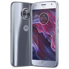 "Moto X4 Blu 64 GB 4G/LTE Dual Sim Display 5.2"" Full HD Slot Micro SD Fotocamera 12 Mpx Android Italia"