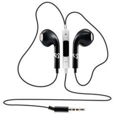 ICSB-IEP204BK - Auricolari In Ear con microfono Neri