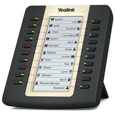 EXP20 LCD Nero telefono IP