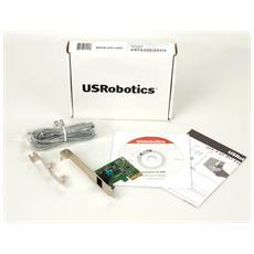 USRobotics USR5638 - Fax / modem - PCIe x1 - 56 Kbps - V. 90, V. 92