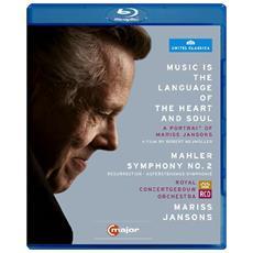 Mahler - Mariss Jansons: Music Is The Language Of Heart And Soul - Sinfonia N. 2 - Jansons Mariss Dir / ricarda Merbeth, Bernarda Fink Nether