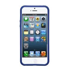 Bumper metal detail violet+screen iphone se