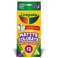 Colora 12 Matite Colorate Personalizzabili 3620