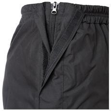 Pantalone antipioggia apribile Diluvio 535 XXL Nero
