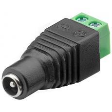 IADAP TB2-DC5521FM - Adattatore Terminal Block 2 pin a DC Femmina (5.50 x 2.10 mm)
