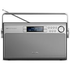 AE5220B / 12, Portatile, Digitale, DAB, FM, 1-via, LCD, C (LR14)