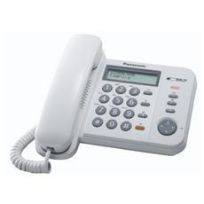 Telefono Base Panasonic 580ex1 White
