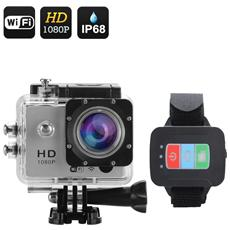 Q3 Wi-Fi Sports Action Camera (Argento)