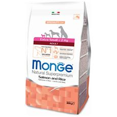 Crocchette Monge Extra Small Adult Salmone & Riso 800gr