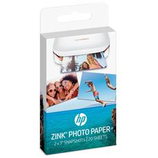 HP - Carta Fotografica 5x7.6 cm per Hp Sprocket - 20...