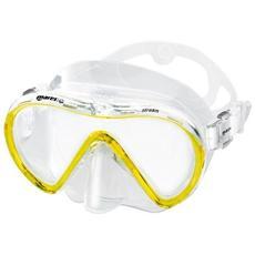 Adulti Maschera Mask Stream, Unisex, Mask Stream, Gelb / transparent