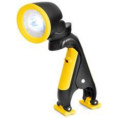 Lampada LED con Attacco a Clip Colore Giallo Nero