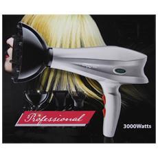 Nuovo Gemei GM137 Asciugacapelli Phon Professionale 1400W con Diffusore Viola